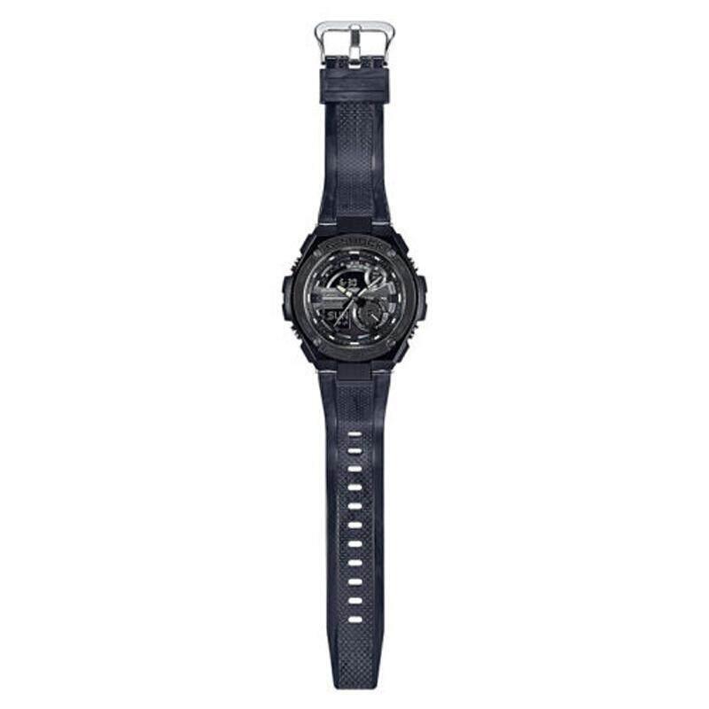 ยี่ห้อไหนดี  ลพบุรี 【 STOCK】Original _ Casio_G-Shock GST210 Duo W/เวลา 200M กันน้ำกันกระแทกและกันน้ำโลกนาฬิกากีฬาไฟแอลอีดีอัตโนมัติ Wist กีฬานาฬิกาสแตนเลสสตีลสำหรับ MenG