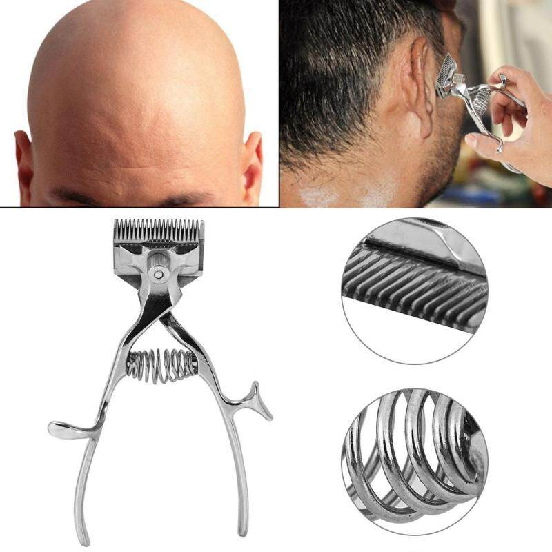Hair Removal Trimmer Cutter Hand Classic Clipper Barber Stainless Steel Manual Haircut Tool - intl