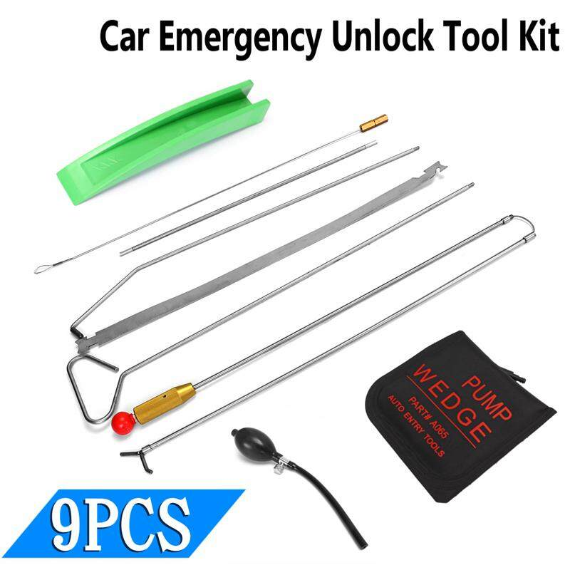 Air Pump Universal Car Door Open Tool Key Lock Out Emergency Tools Kit Unlock