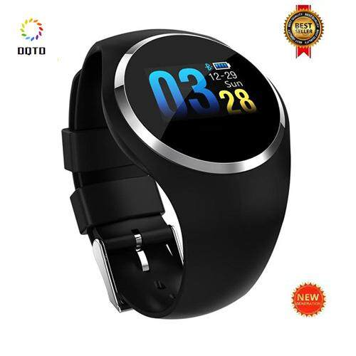 2018 New Q1 Smart Watch Waterproof Wearable Device Smartwatch Fitness Tracker Call Reminder Smart Watch Round