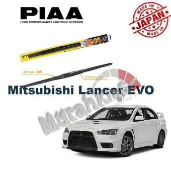 Mitsubishi Lancer/Evo PIAA Aero Vogue Premium Silicone Wiper Blade for Car - 1 Pair (Made in Japan) - 24 Inch & 17 Inch