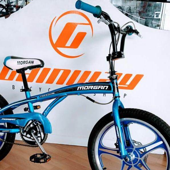 MORGAN 20 INCH SPORT RIM BMX BIKE MG-FREEDOOM BMG20FR