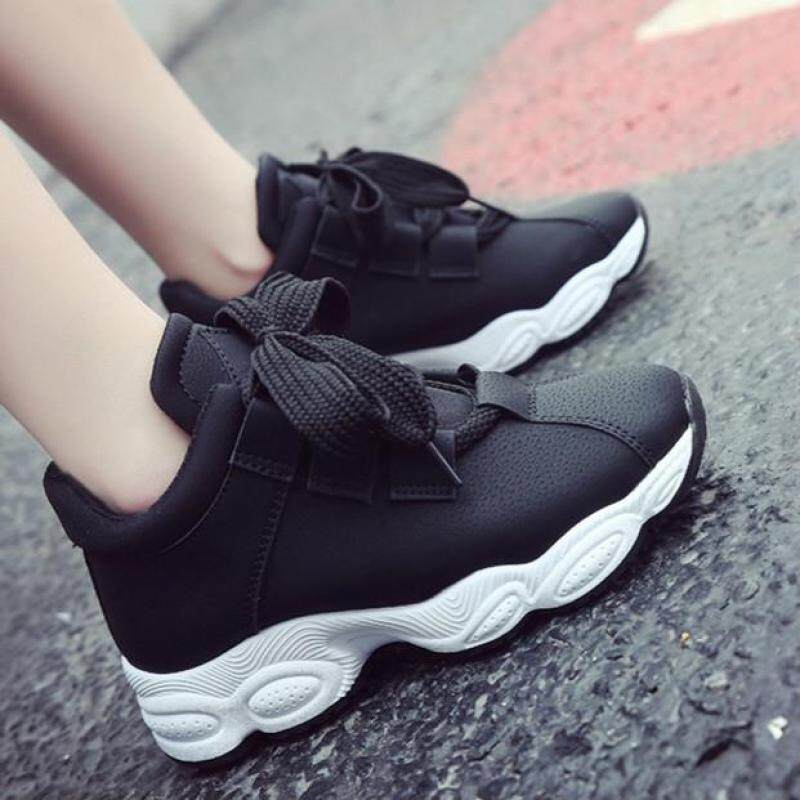 New Casual Fashion Sneakers for Women Breathable Running Sports Women s  Shoes (Black) 817106ca28