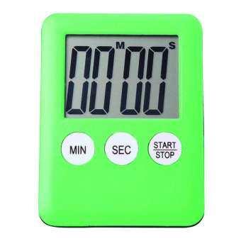 GoodGreat วงจรจอดิจิตอล LCD นาฬิกาจับเวลาทำครัวสแควร์ตัวนับถอยหลังทำอาหารแม่เหล็กปลุกนาฬิกา-