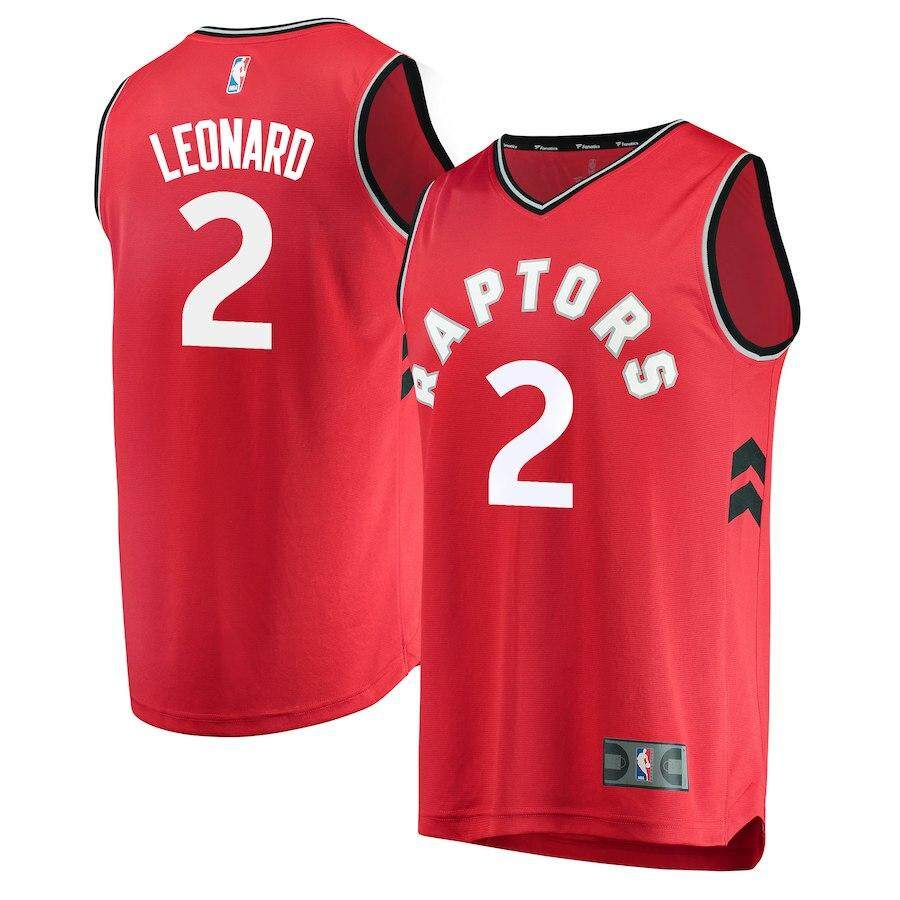 e9a70cd5c05 Num 2 Toronto Raptors Kawhi Leonard For Male Basketball Clothes Soft Chase  Fashion Alternate Size small