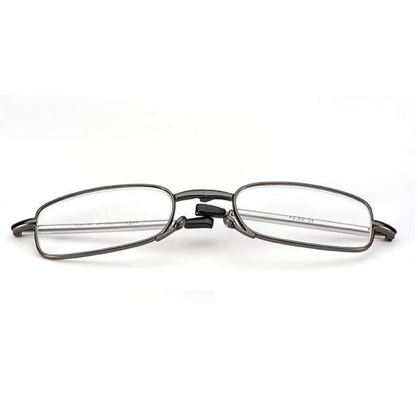 300 Degree Men Women Foldable Reading Glasses With Glasses Case Presbyopic Glasses
