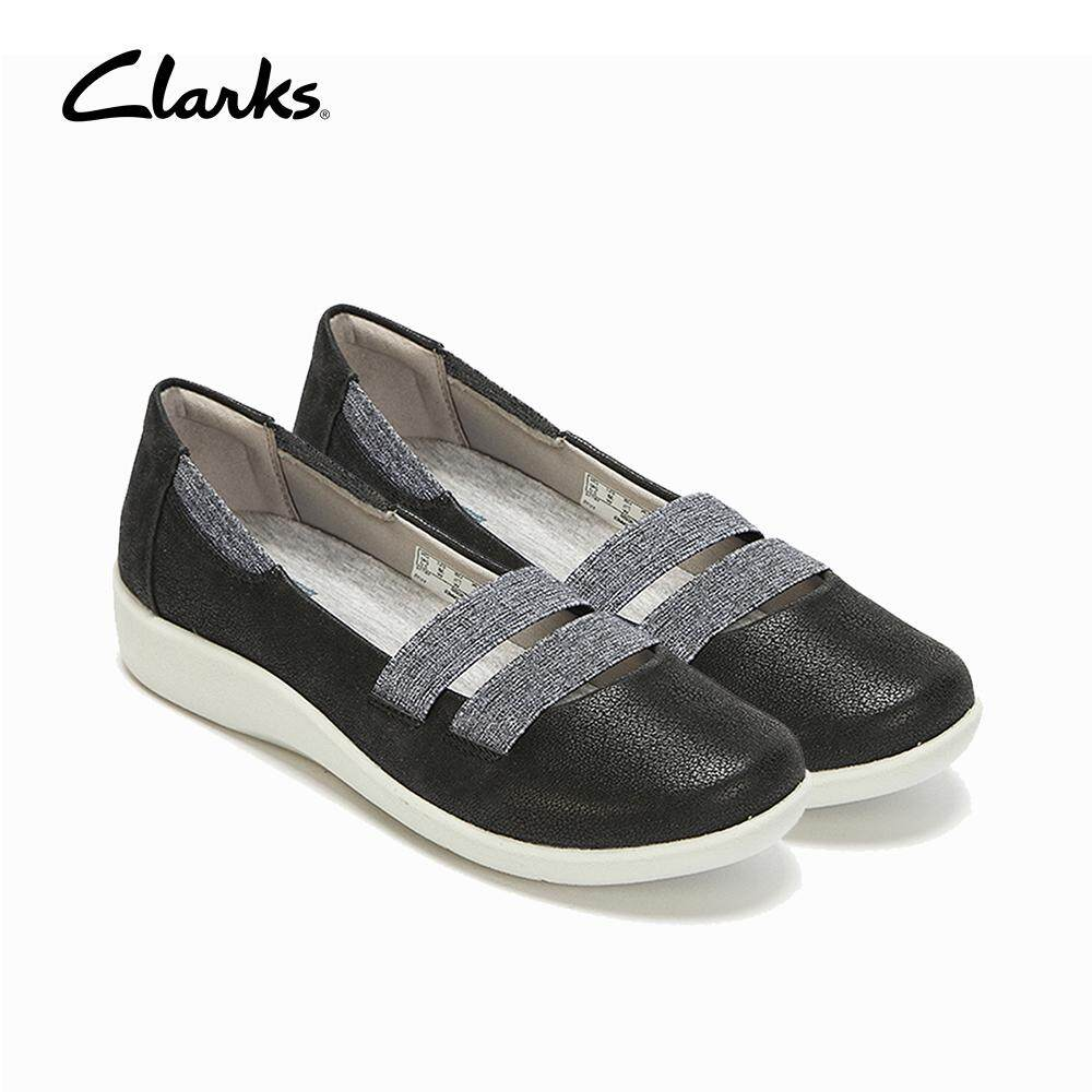 8f323709 Clarks Cloudsteppers Sillian Rest Womens Casual Slip Ons (Black)