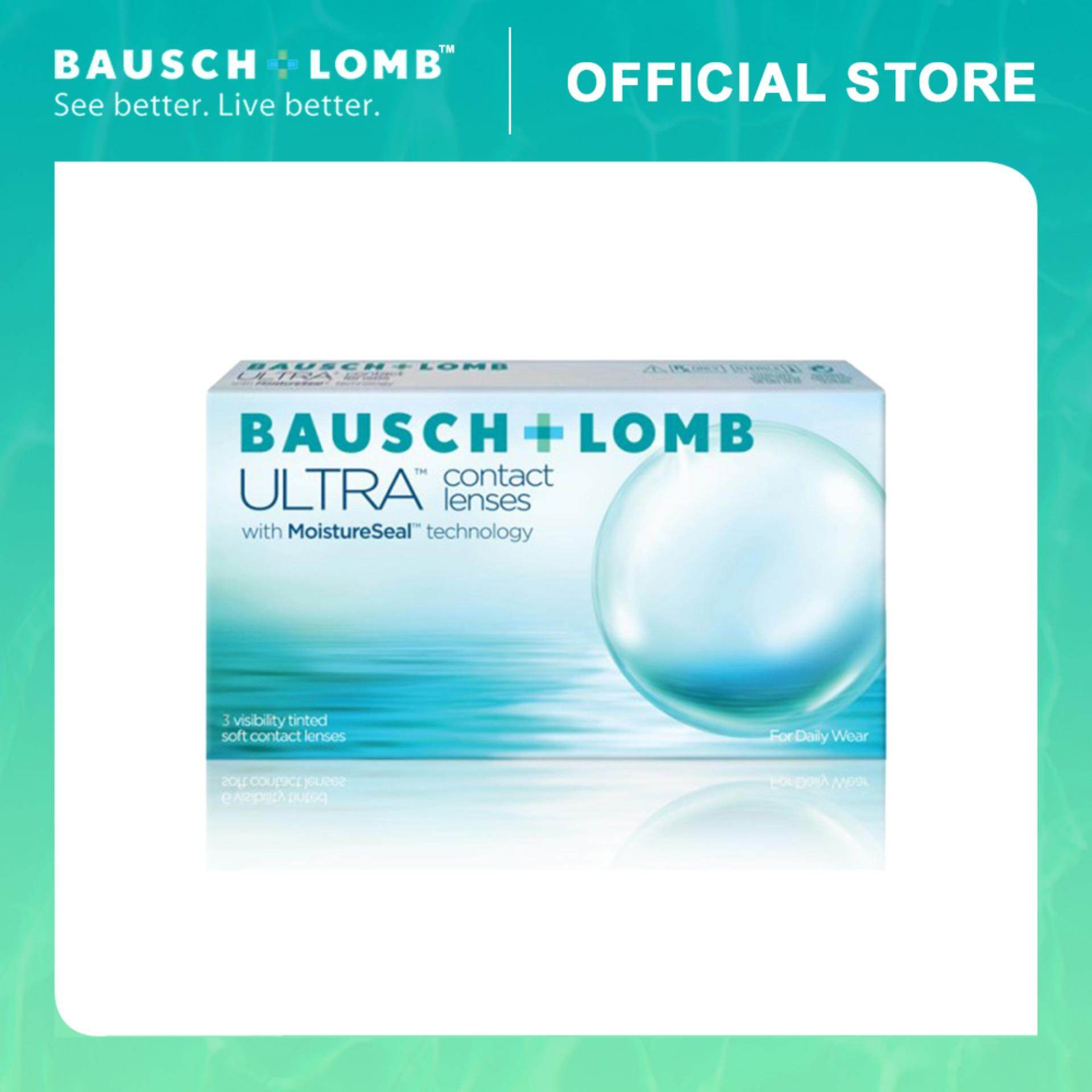 Bausch & Lomb ULTRA Monthly Contact Lenses