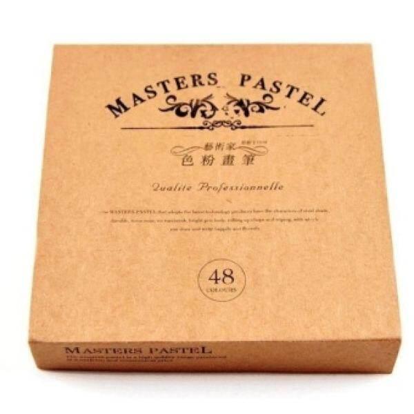12 Colors Pro Masters Soft Pastels Set For Coloring