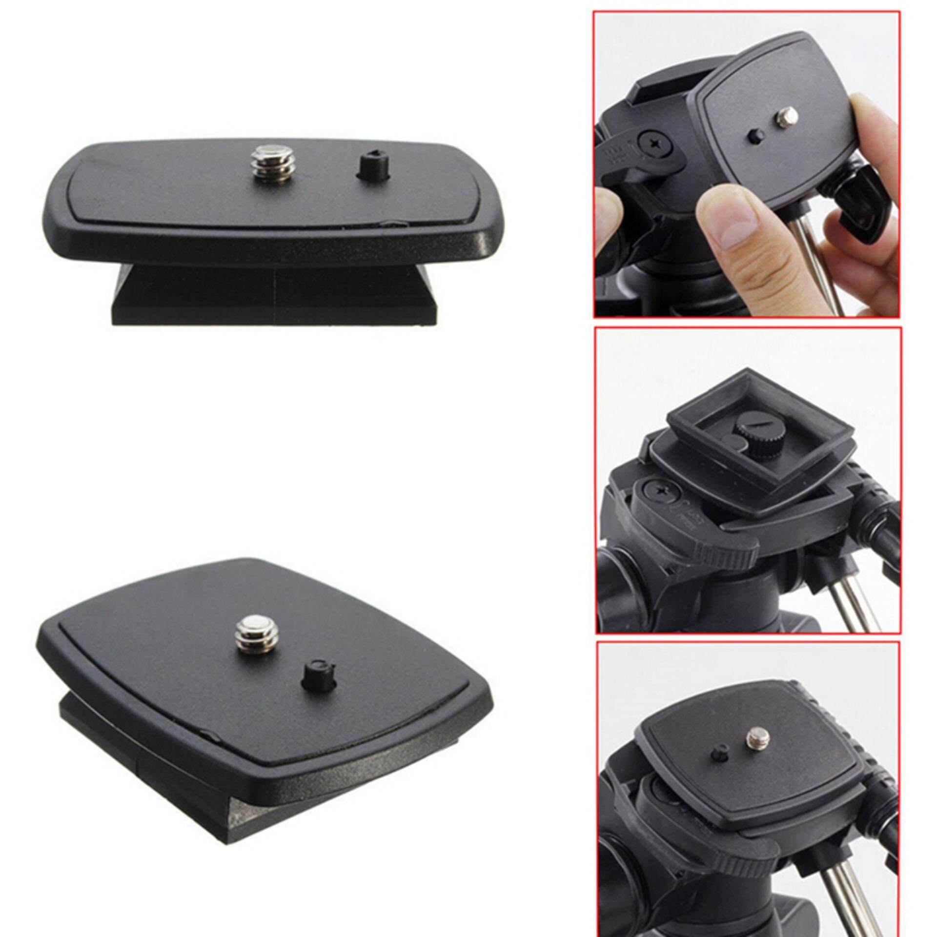 Quick Release Plate Screw Adapter Tripod Mount Head For Sony DSLR SLR Camera