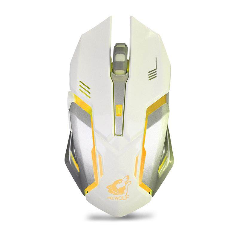 LED Wireless Optical Gaming Mouse Rechargeable X7 High Resolution Mouse