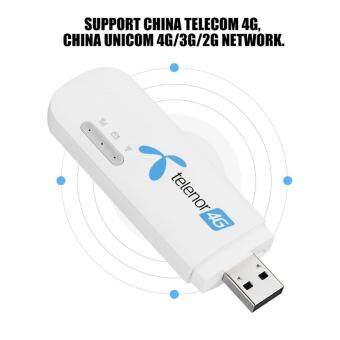 Paling Murah E8372h 608 4G LTE USB WiFi Wireless Modem Sign Random White For China Unicom Telecom Kajian Semula