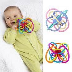 I Love Daddy&Mummy Đồ chơi quả cầu lúc lắc đầy màu sắc có gắn chuông dành cho bé 0-12 tháng tuổi – INTL