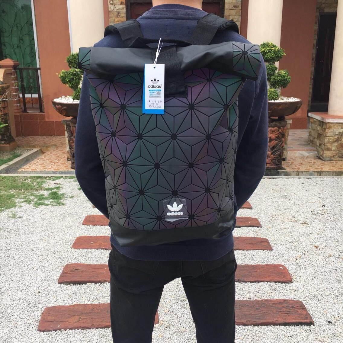 3d Fashion Sport Roll Backpack Bag Travel Men Women Top