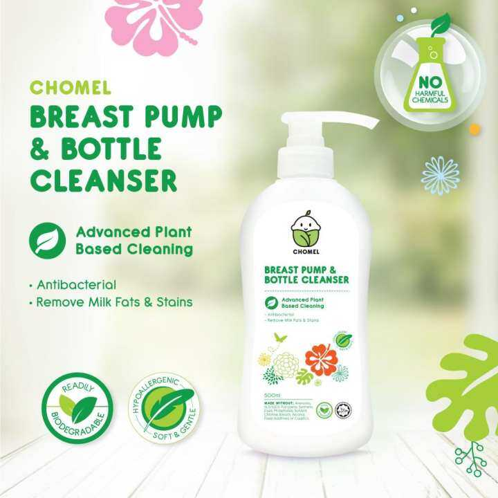 CHOMEL - Breast Pump and Bottle Liquid Cleanser (500ml)