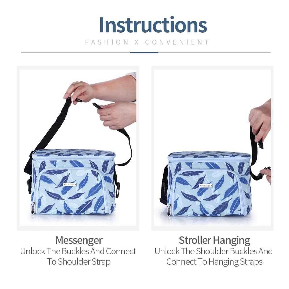 ขอถามคนที่ใช้ Unbranded/Generic อุปกรณ์เสริมรถเข็นเด็ก LISSNG กันน้ำคว้าไนลอนกระเป๋ารถเข็นเด็กอ่อนกระเป๋าใส่ของ Multi - functional รถเข็นเด็กที่แขวนเก็บของกระเป๋าสีชมพู มีคูปองส่วนลด
