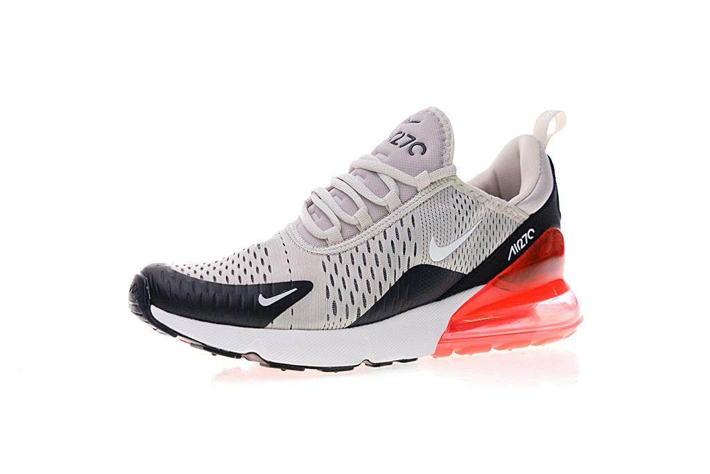 Nike Air Max 270 Men s Lightweight Running Shoes Comfortable Sport Sneakers  (Grey Red) 035acbf790