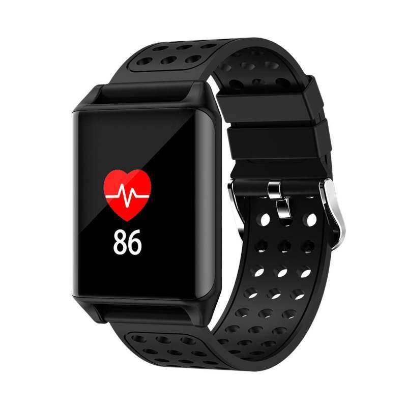 【Flash Deal】【ONLY The First Images Color Left】 M7 Colorful OLED Screen Sport Smart Band IP67 Waterproof Support Heart Rate Blood Pressure Predometer Smart Watch for Gifts black Malaysia