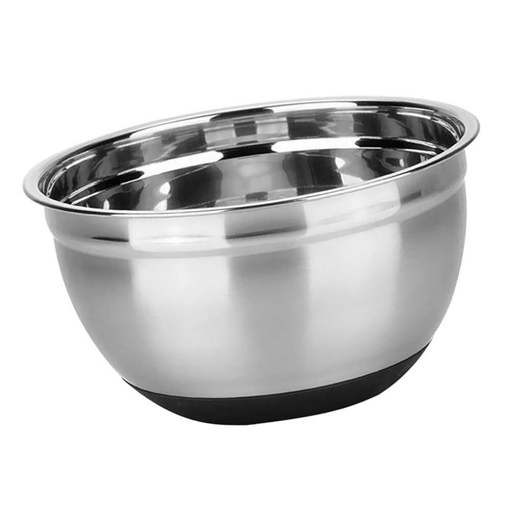 Baking Bowl Metal Mixing Bowls 1 Pack 304 Stainless Steel Mixing Bowls Stainless Steel Mixing Bowls 10 inch 26 cm Bake Bowl Mixing Bowls Stainless Steel