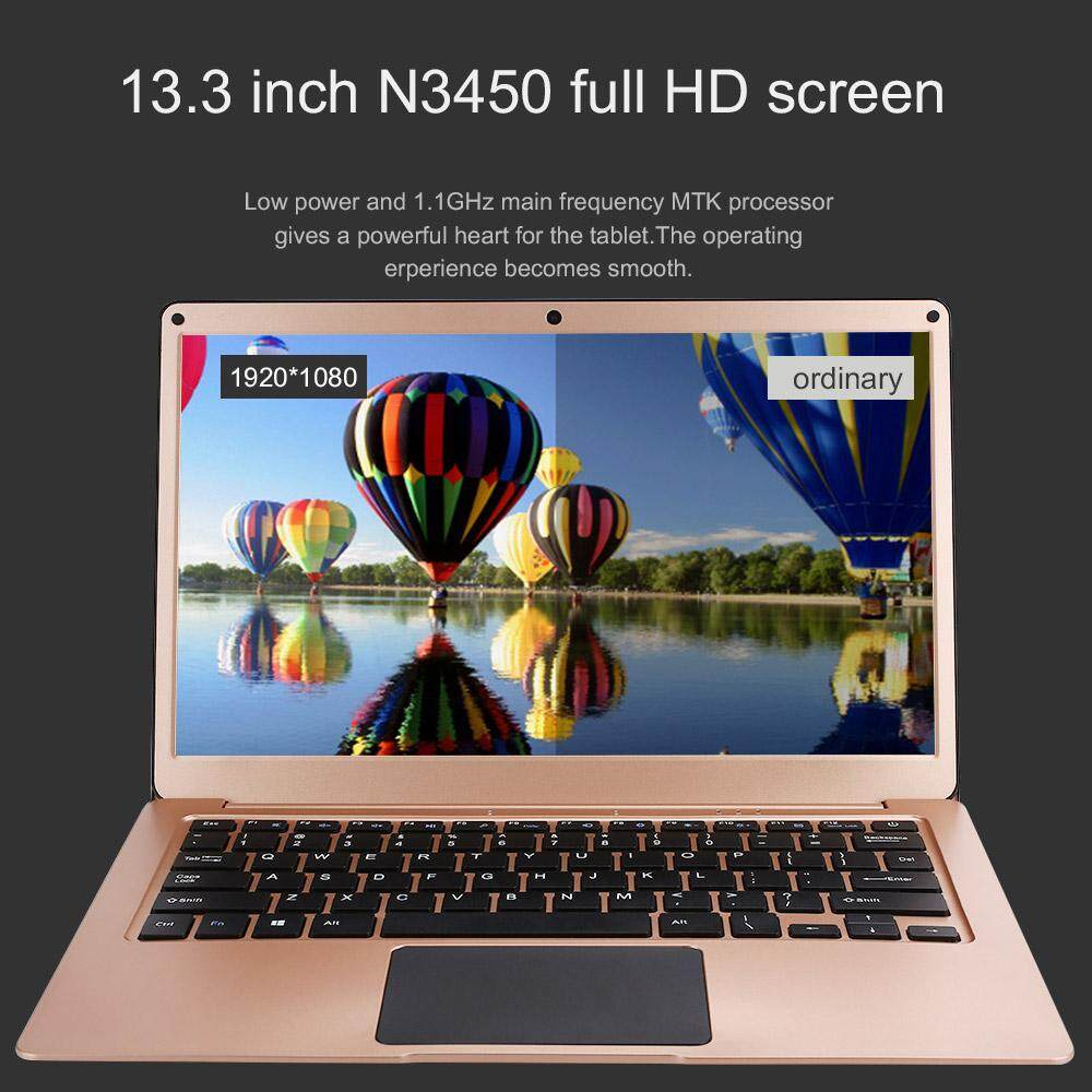 MayLer Store Laptop Notebook Durable 6GB RAM+64GB ROM N3450 Office Bluetooth Rose Gold