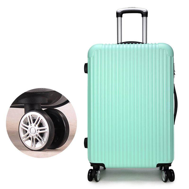 20 Inches Draw Bar Box Universal Wheel Suitcase ABS+PC Travel Luggage Boarding Case Password