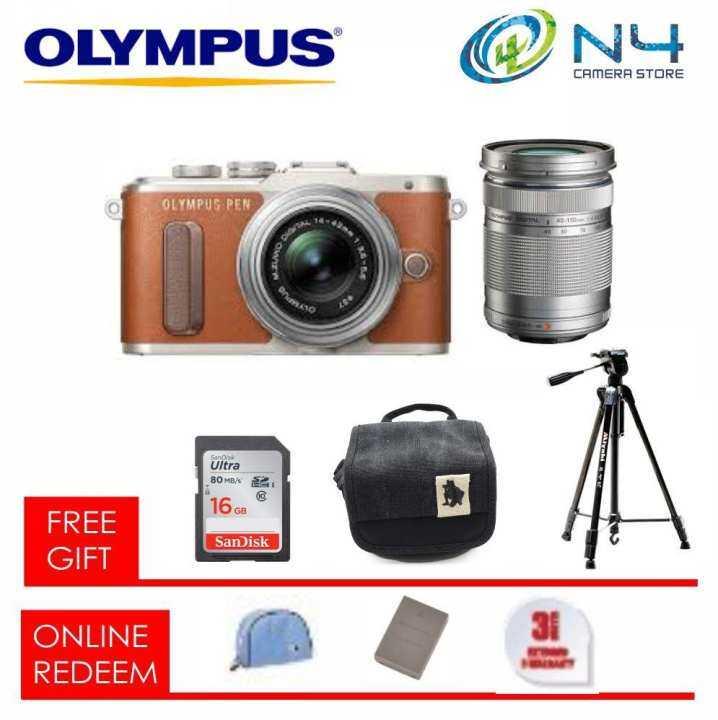 Olympus Pen EPL8 / E-PL8 (M.ZUIKO 14-42MM EZ) + 40-150 mm ...