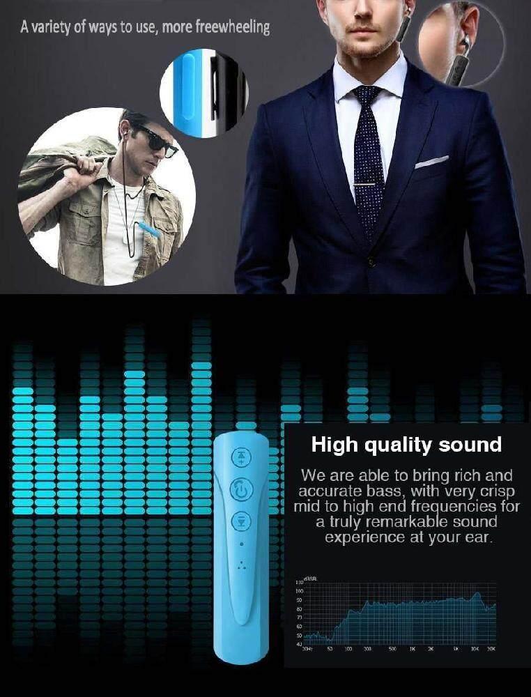 เสียงดีมาก เครื่องเสียงและโฮมเธียร์เตอร์ Unbranded/Generic Dsan MINI ขนาด 3.5 มิลลิเมตรหูฟังบลูทูธ Receiver Kit ตัวรับบลูทูธแฮนด์ฟรีในรถเพลงช่องรับสัญญาณเสียงรถหูฟังบลูทูธไร้สายพร้อมไมโครโฟน มีรับประกัน
