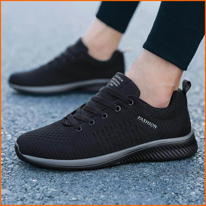 Men Fashion Mesh Breathable Running Sports Sneakers Outdoor Casual Comfortable  Sports Shoes 9a7906b20b95