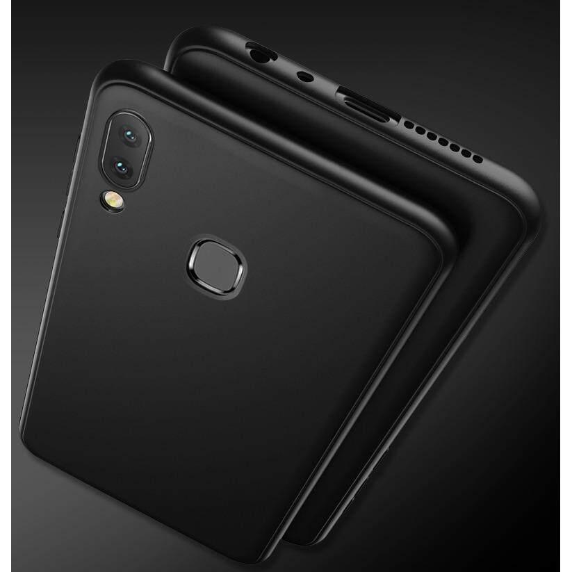 Ultra Slim Shockproof Phone case For VIVO V9 matte Soft tpu Rubber Back Cover - intl