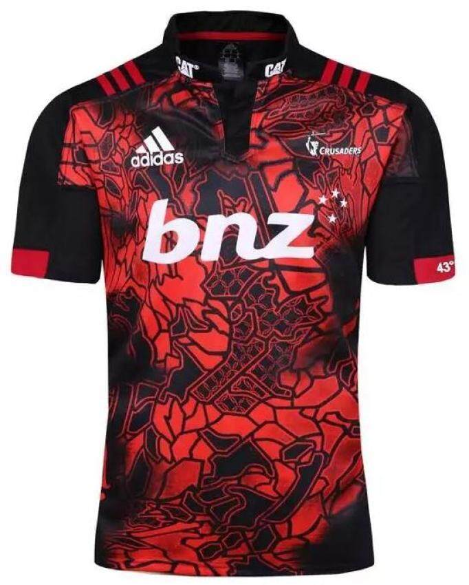 2e2b1290a Special Edition Crusaders Super Rugby Lions Tour Jersey 2017 Short Sleeve  Scarlett for Men