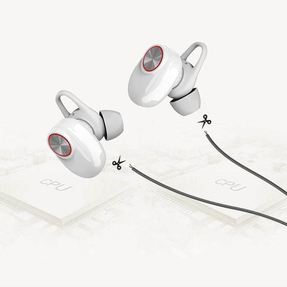 ของแท้ราคาถูก หูฟัง ซัมซุง หูฟังบลูทูธ 4.2 ROQ  Wireless Bluetooth Stereo Headset  ฟังเพลง.รับสายสทนาได้ (Black) ลดราคาเกินครึ่ง