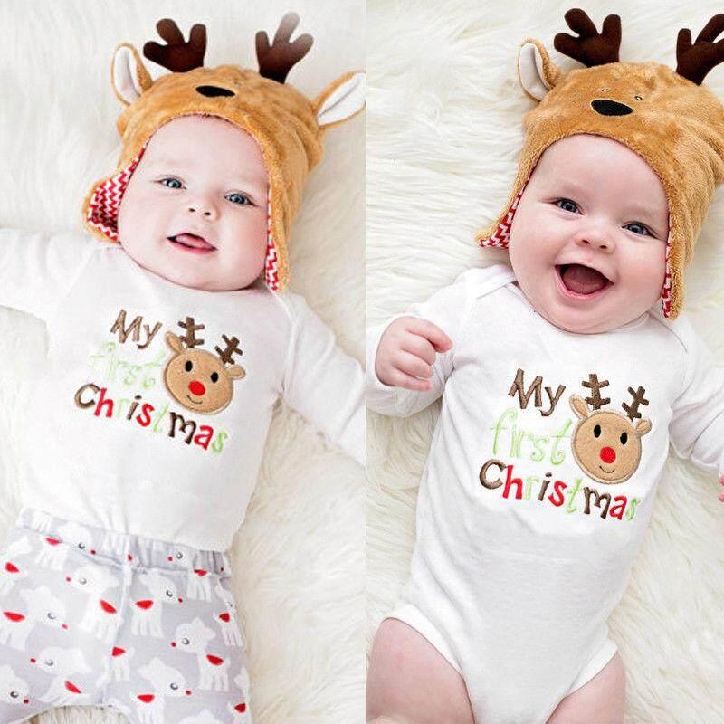 Newborn Infant Kids Baby Boy Girl Cotton Romper Jumpsuit Bodysuit Outfit Clothes