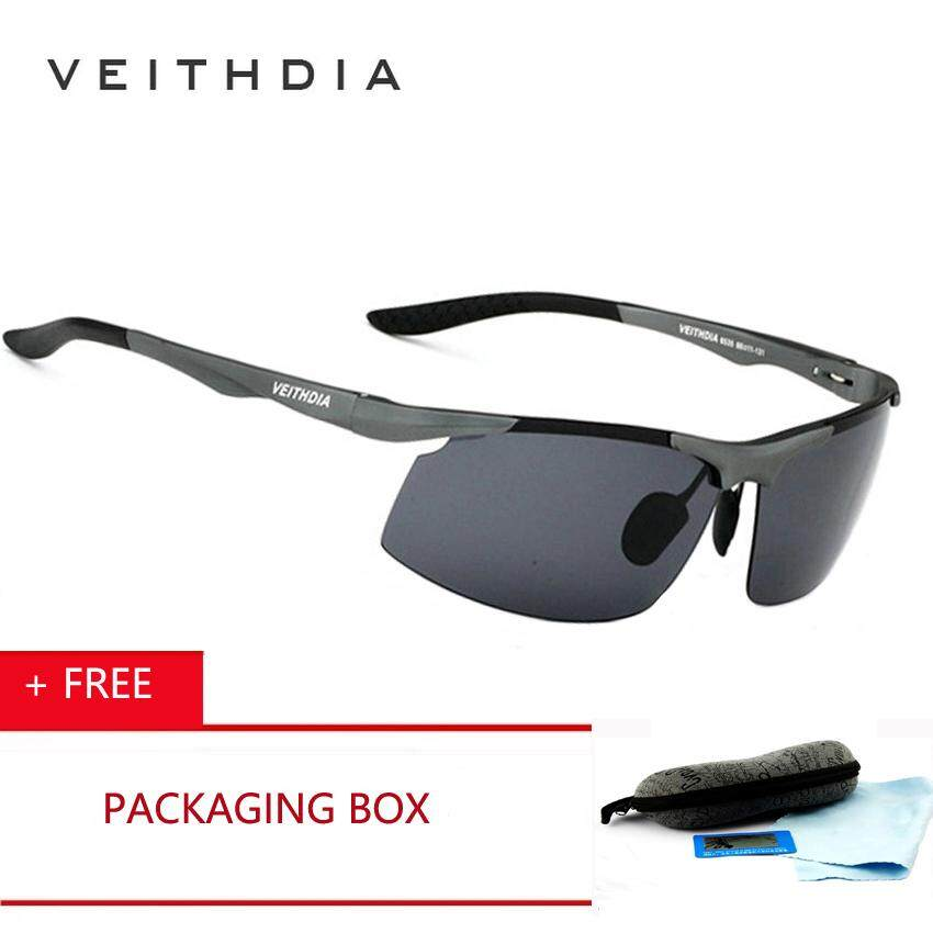 VEITHDIA Brand Logo Designer Aluminum Magnesium UV400 Men Polarized  Sunglasses Driving Sun Glasses Goggles 2018 Fashion fc2d315ef1