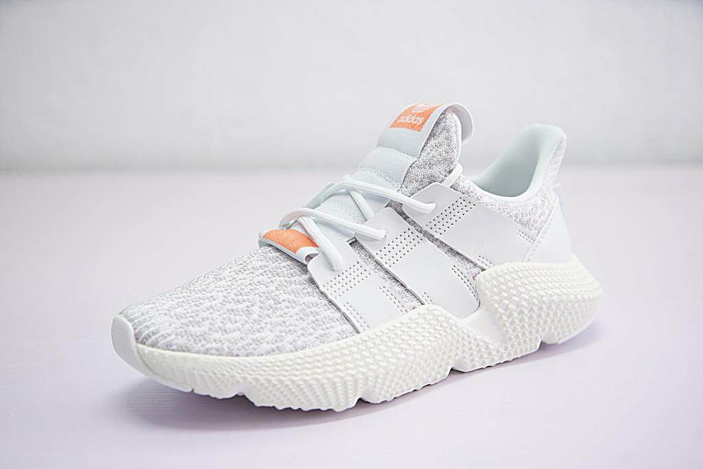 b07dd5b5b11af Adidas Originals Prophere Men s Running Shoe Fashion Casual Sneakers (White  Grey)