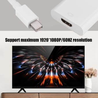 Harga Penawaran DP Mini Ke Kabel HDMI Dp Mini Pria untuk HDMI Betina HD Adaptor Video Kabel Konverter Putih-Intl discount - Hanya Rp117.174