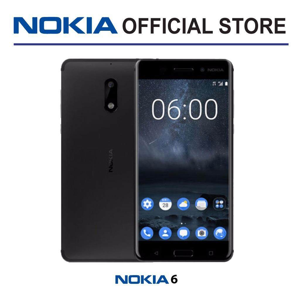 Nokia 6 32gb Matte Black Price Online In Malaysia August 2020