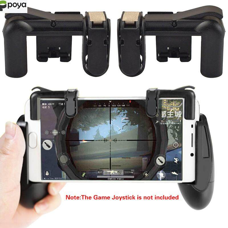Poya Phone Gamepad Trigger Fire Button Aim Key Stretchable Button Joystick L1R1 Shooter Controller PUBG V3.0 FUT1 (Product is trigger buttons,Does not include a game handle)