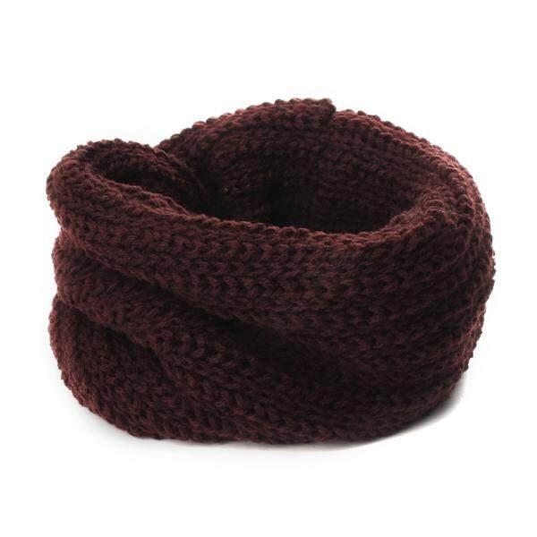 Hot Warm Winter Cute Child Kid Baby Boy Girl Knit Scarf Shawl Wrap Neckerchief