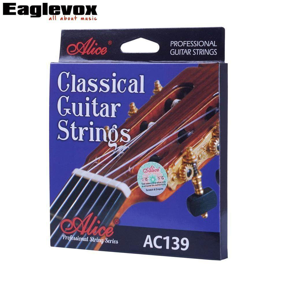 Alice Classical Guitar Strings titanium Nylon Silver-plated 85/15 Bronze Wound 028 0285 inch AC139 - intl