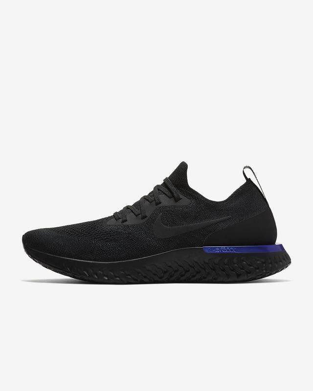 info for 85b8b 2c988 Nike Epic React Flyknit Men s Running Sneaker Fashion Casual Sport Shoes ( Black)