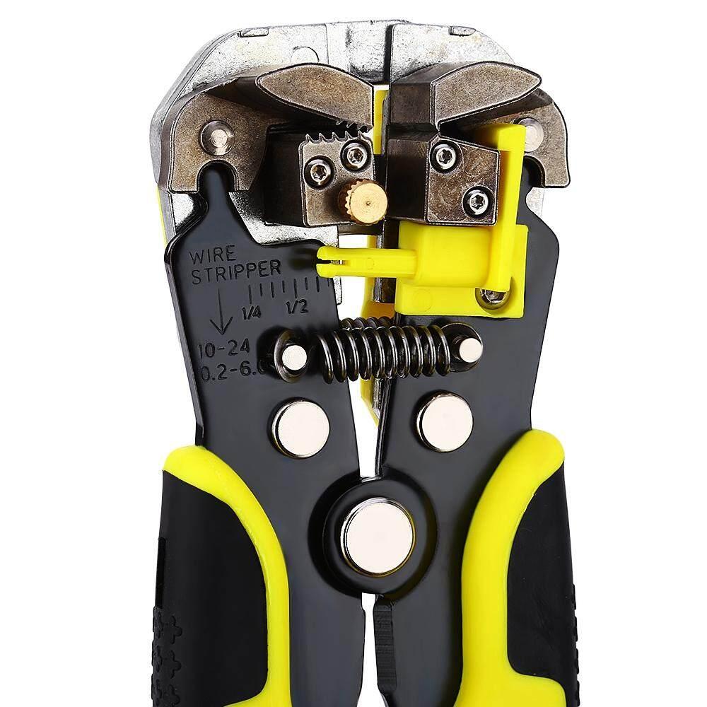 Multi-function Ratchet Wheel Save Effort TAB Terminal Crimping Press Plier Tool