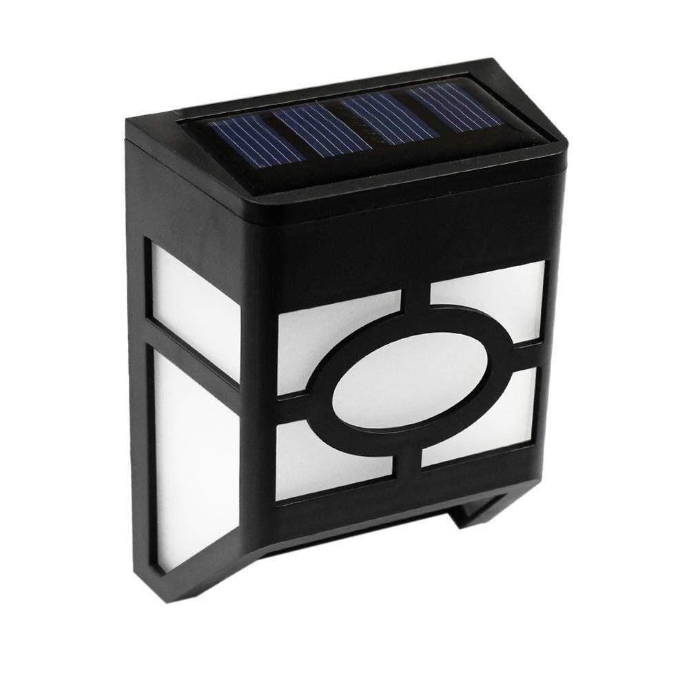 G & B Năng Lượng Mặt Trời Đèn LED Dán Tường, 2 Chế Độ Đèn LED Năng Lượng Mặt Trời Chống Nước Chiếu Sáng Cho Tường Ngoài Trời, Hàng Rào, sân sau, Nhà Để Xe, Sân Vườn Và Driveway