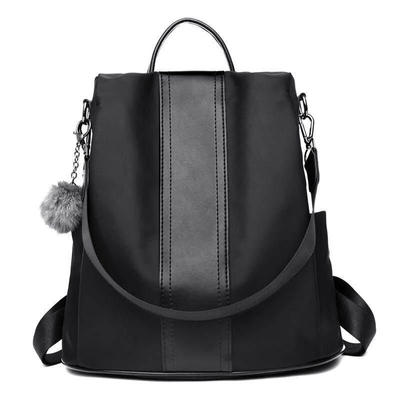 Tongxulife rc Korean Style Backpack Purse Fashion Women Casual Shoulder Bags Waterproof Nylon Anti-theft