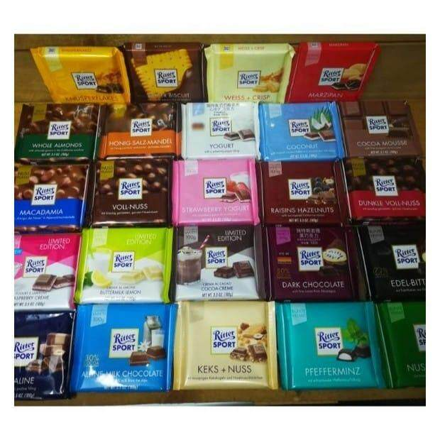 Ritter Sport Bar Praline Buy Sell Online Individual Bar Pack With Cheap Price Lazada
