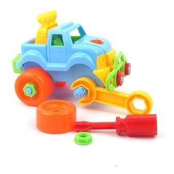 Disassembly Assembly Classic Car Jigsaw Toy With Screw Driver Tools Best Gift For Children