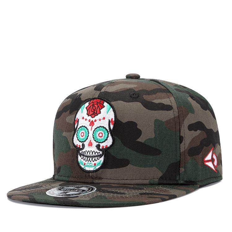 New Flat Brim Camouflage Baseball Caps For Men Women Cap Snapback Hats Army Style Hip-pop Casquette Adjustable 55-61cm Cap