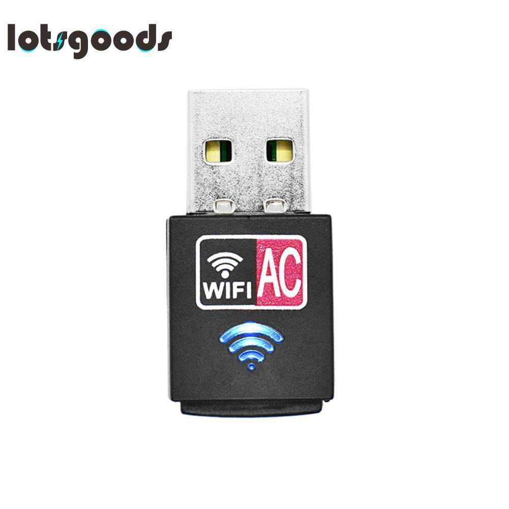 600Mbps Wireless Mini USB Adapter Network Card Wifi Receiver for Windows XP(Black)