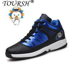 TOURSH Men Basketball Shoes Sports Shoes Fashion Comfortable Shoes(blue) – intl