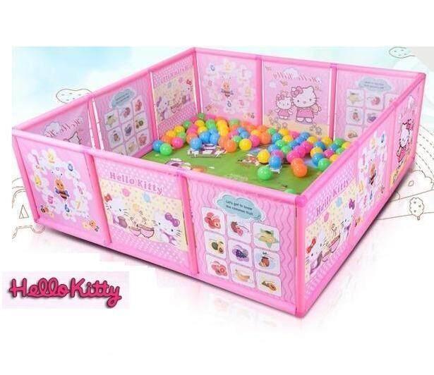 Kids Cartoon Theme Indoor and Outdoor Portable Playard