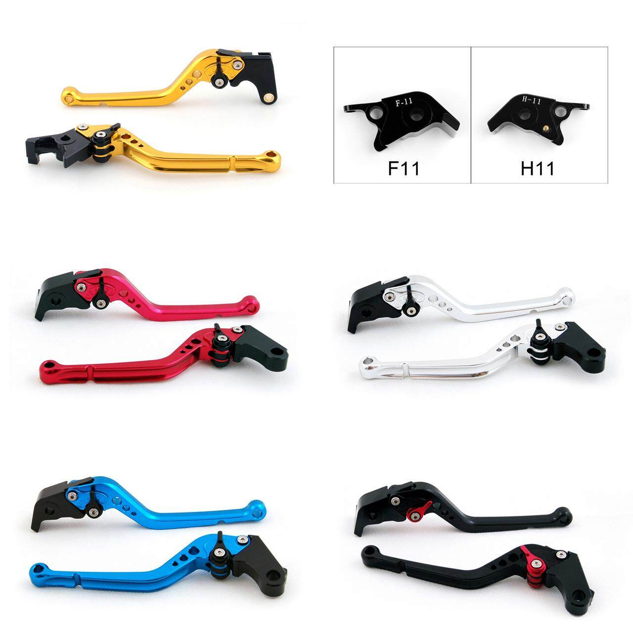 Standard Staff Length Adjustable Brake Clutch Levers Ducati STREETFIGHTER 848 2012-2015